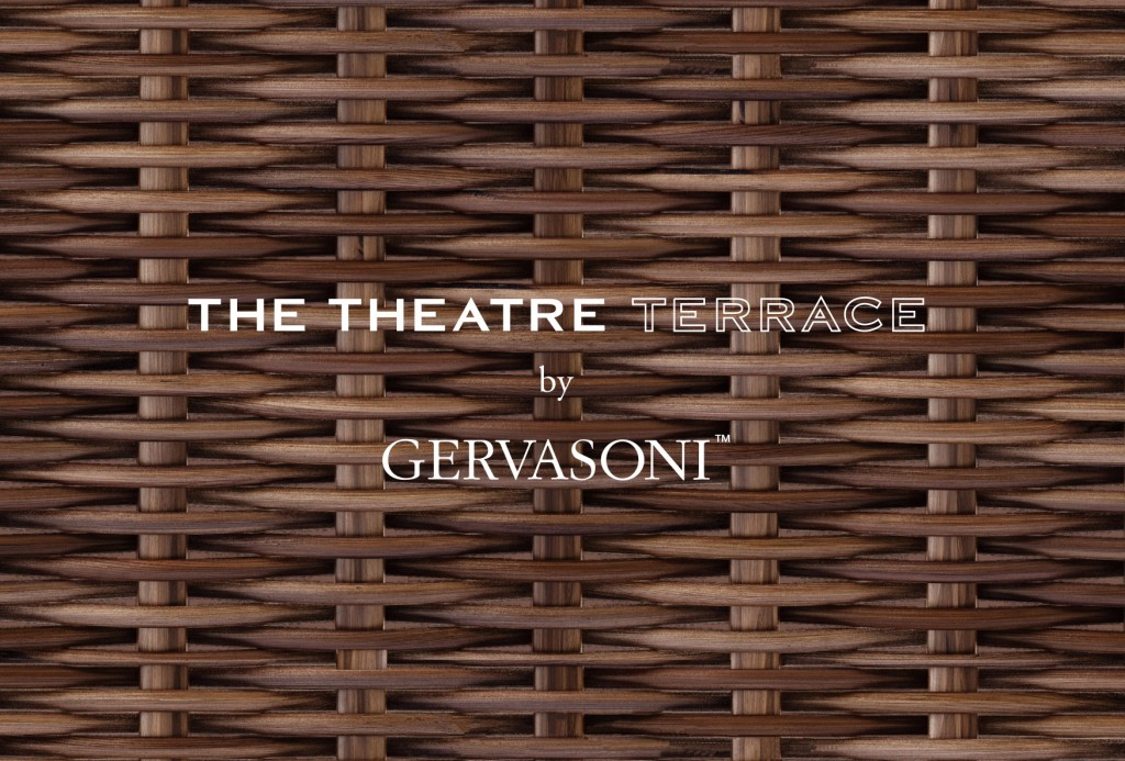 『THE THEATRE TERRACE by GERVASONI』 OPEN
