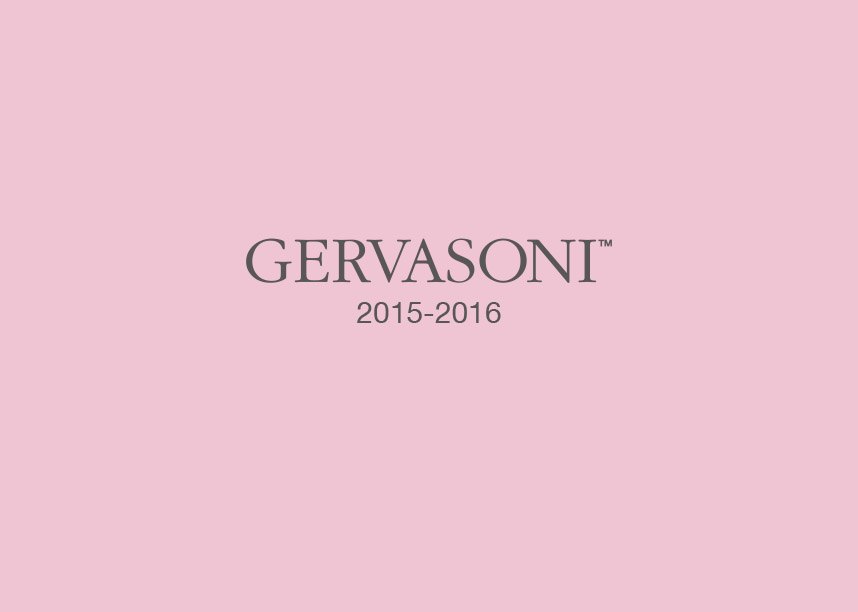 リーフレット「GERVASONI2015-2016」完成