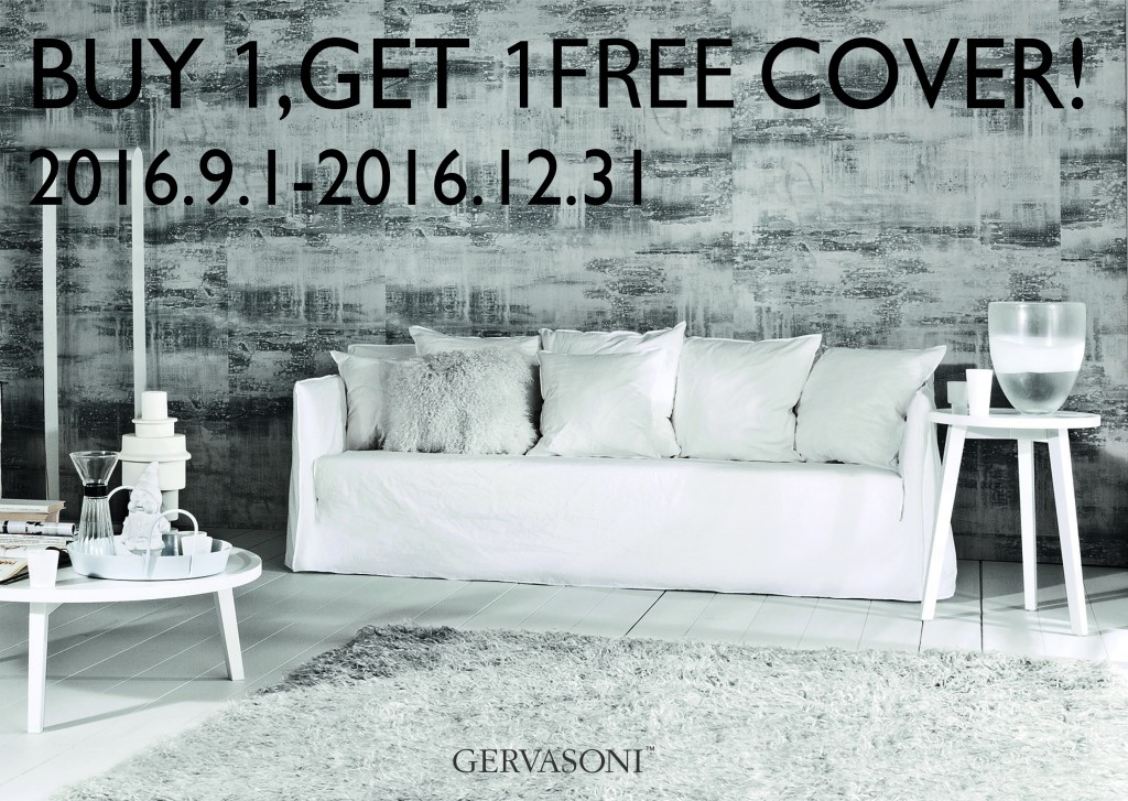 BUY1,GET 1 FREE COVER!/キャンペーンのご案内